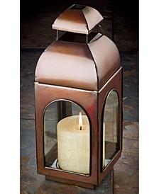 """KINDWER 13"""" Antique Finish Candle Lantern"""