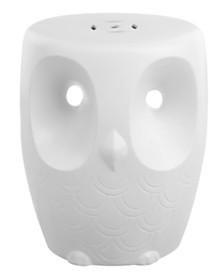 Owl Garden Stool, Quick Ship