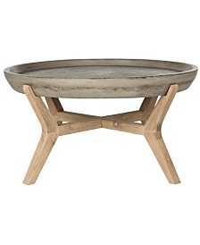 Wynn Round Coffee Table, Quick Ship