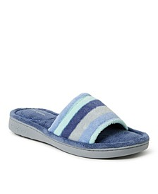 Women's Microfiber Terry Slide Slipper, Online Only