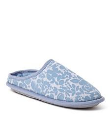 Women's Flocked Clog Slippers, Online Only