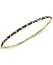 EFFY® Multi-Color Diamond Bangle Bracelet (1/2 ct. t.w.) in 14k Gold