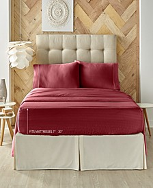 J. Queen New York Royal Fit 300 TC Cotton-blend Twin Sheet Set