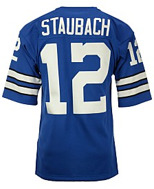 Mitchell & Ness Men's Roger Staubach Dallas Cowboys Authentic Football Jersey