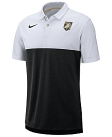 Nike Men's Army Black Knights Dri-Fit Colorblock Breathe Polo