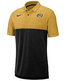 Nike Men's Missouri Tigers Dri-Fit Colorblock Breathe Polo