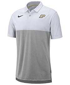 Men's Purdue Boilermakers Dri-Fit Colorblock Breathe Polo