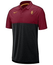 Men's USC Trojans Dri-Fit Colorblock Breathe Polo