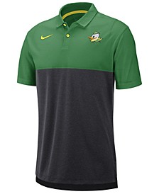 Men's Oregon Ducks Dri-Fit Colorblock Breathe Polo