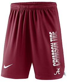 Nike Men's Alabama Crimson Tide Breathe Knit Shorts