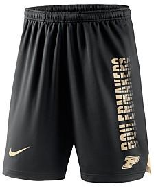 Nike Men's Purdue Boilermakers Breathe Knit Shorts
