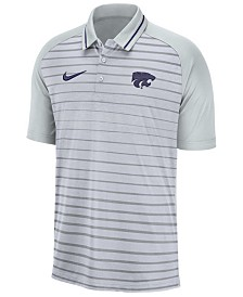 Nike Men's Kansas State Wildcats Stripe Polo