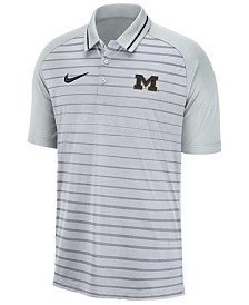 Nike Men's Michigan Wolverines Stripe Polo