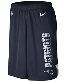 Nike Men's New England Patriots Player Knit Breathe Shorts