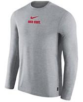 1f2db7b3 Nike Men's Ohio State Buckeyes Dri-FIT Coaches Long Sleeve Top