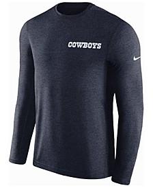 Men's Dallas Cowboys Coaches Long Sleeve Top