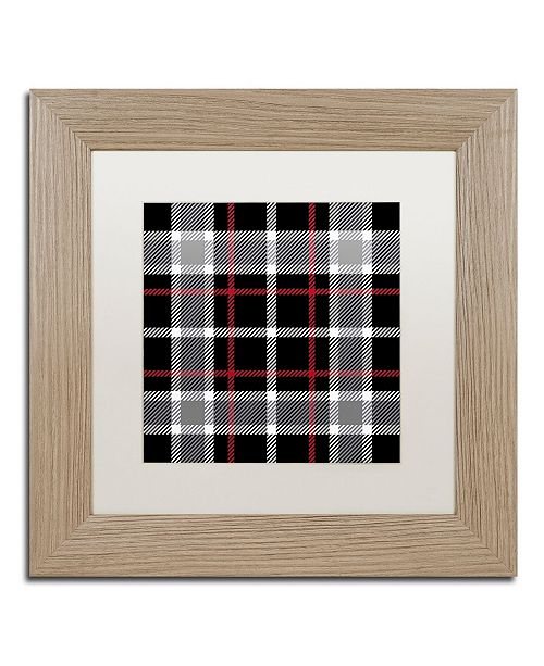 "Trademark Global Color Bakery 'Group 05 A' Matted Framed Art - 11"" x 11"""