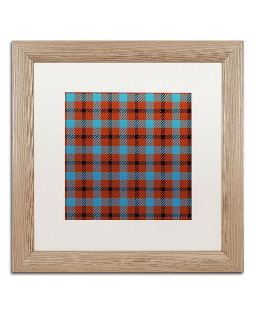 """Trademark Global Color Bakery 'Group 06 A' Matted Framed Art - 16"""" x 16"""""""