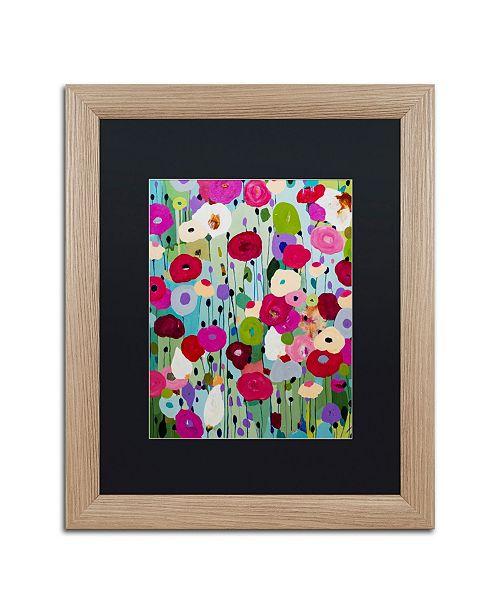 """Trademark Global Carrie Schmitt 'Making Wishes' Matted Framed Art - 16"""" x 20"""""""