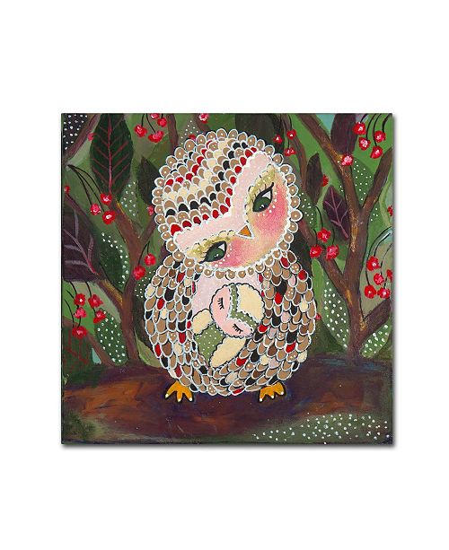 """Trademark Global Carrie Schmitt 'You Are My Home' Canvas Art - 35"""" x 35"""""""