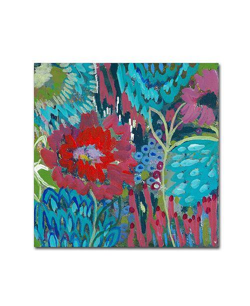 """Trademark Global Carrie Schmitt 'Shanti' Canvas Art - 14"""" x 14"""""""