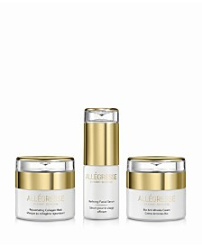 Allegresse 24K Skincare Anti Aging 3 Piece Set