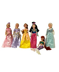 "Smart Talent 11.5"" Princess Dolls Gift Set"