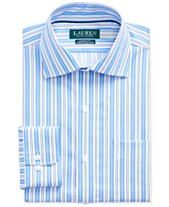 589958f4be7f Lauren Ralph Lauren Men's Classic-Fit No-Iron Striped Dress Shirt