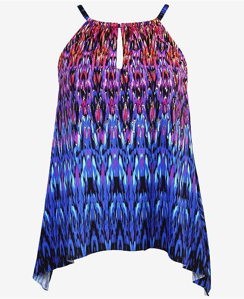 62e56cd649c4 Miraclesuit Vesuvio Peephole Tankini Swim Top & Reviews - Swimwear ...