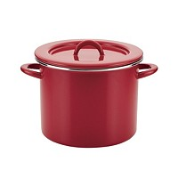 Rachael Ray Create Delicious Enamel Steel Stockpot 12-Qt.