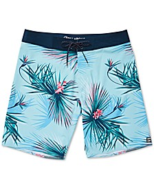 Toddler & Little Boys Sundays Pro Printed Swim Trunks