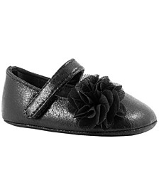 Baby Girl Shimmer One-Strap with Shimmer Chiffon Flower
