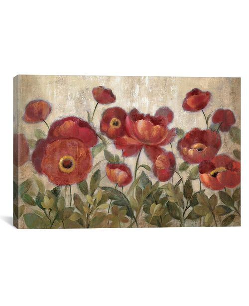 iCanvas Daydreaming Flowers Red by Silvia Vassileva Gallery-Wrapped Canvas Print Collection
