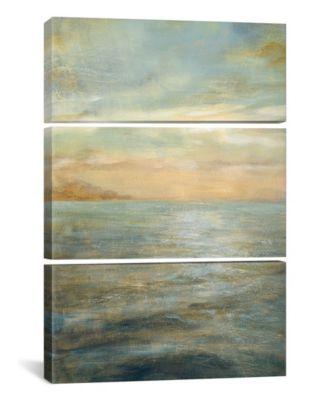"Serene Sea Ii by Danhui Nai Gallery-Wrapped Canvas Print - 60"" x 40"" x 1.5"""