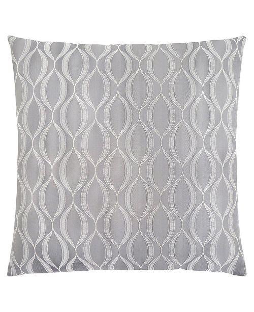 "Monarch Specialties 18"" x 18"" Wave Pattern Pillow"
