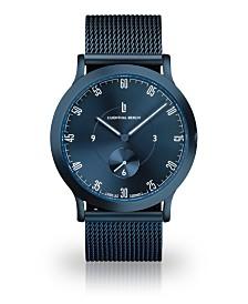Lilienthal Berlin L1 All Blue Mesh Watch 37mm