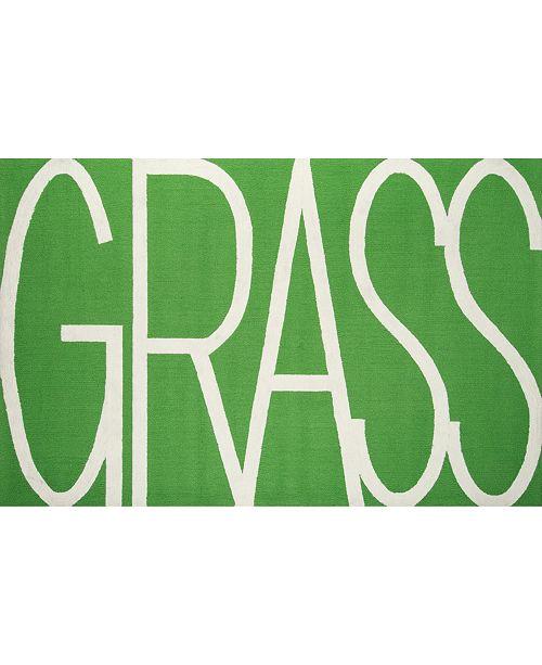 """Novogratz Collection Novogratz Portico Por-1 Green 3'9"""" x 5'9"""" Area Rug"""