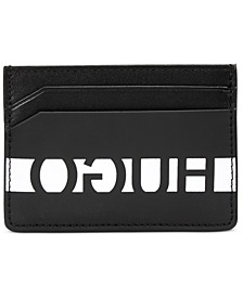 HUGO Men's U-Bahn Leather Card Case