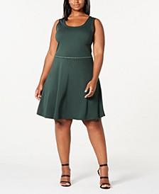 Rosie Harlow Trendy Plus Size  Studded Tank Dress