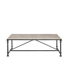 Bernhardt Galesbury Rectangular Metal Cocktail Table