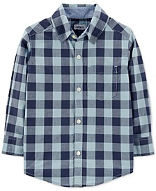 Baby Boys Plaid Cotton Shirt