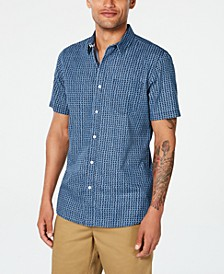Men's Diamond Pattern Shirt, Created for Macy's