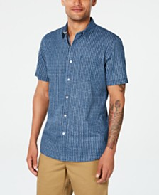 American Rag Men's Diamond Pattern Shirt, Created for Macy's