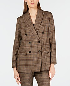 Weekend Max Mara Wool Campus Boyfriend Blazer