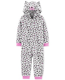 Carter's Toddler Girls 1-Pc. Leopard-Print Pajama