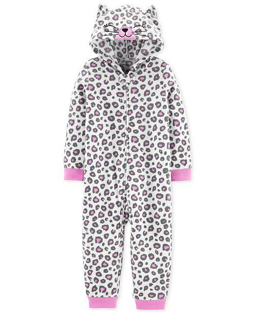 Carter's Toddler Girls 1-Pc. Leopard-Print Pajama