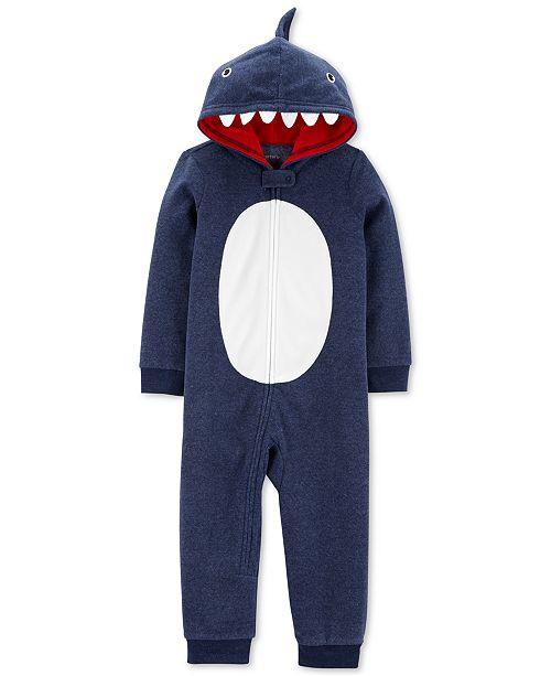 Carter's Toddler Boys 1-Pc. Shark Pajama