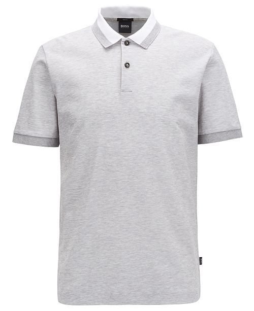 e39db60bbc9a ... Hugo Boss BOSS Men's Phillipson 55 Slim-Fit Cotton Polo Shirt ...