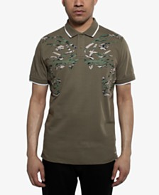 Sean John Men's Double Roar Polo Shirt