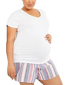 Plus Size Underbelly Shorts
